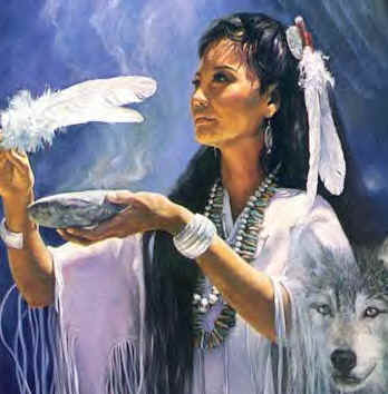 Native American Smudging