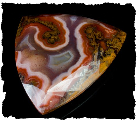 Faceted Agate