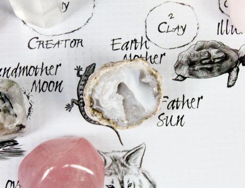 Father Sun Stone Crystal Location on The Native American Medicine Wheel