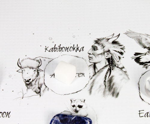 Kabibonokka the Spirit Keeper of the North Crystal on The Native American Medicine Wheel