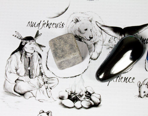 Mudjekeewis: Spirit Keeper of the West Wind Crystal on The Native American Medicine Wheel