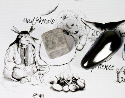 Mudjekeewis: Spirit Keeper of the West Wind Crystal on The Native American Medicine Wheel