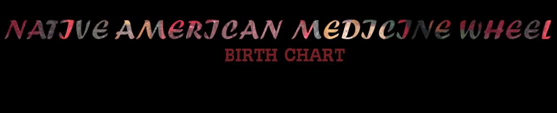 Medicine Wheel Birth Chart   Crystal Vaults