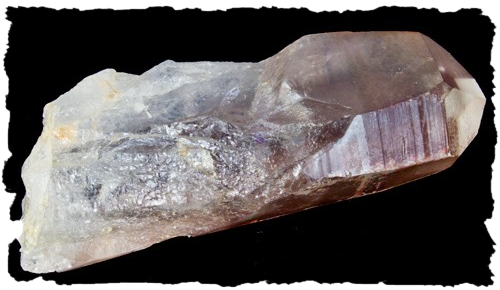 Lemurian Scarlet Temple Crystal