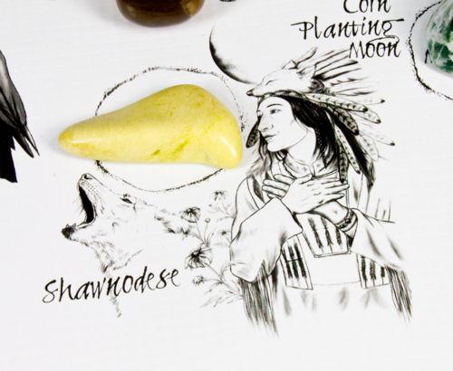 Shawnodese Crystal Location on The Native American Medicine Wheel