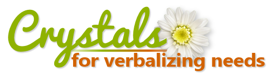 Crystals for Verbalizing Needs