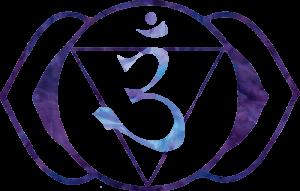 brow chakra symbol