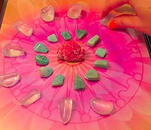 crystal grids desire stone