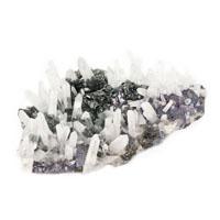 quartz sphalerite
